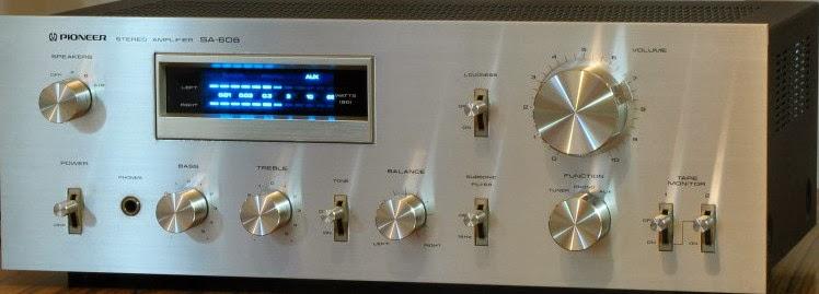 AMPLI PIONEER SA - 608 platine vinyle art sound