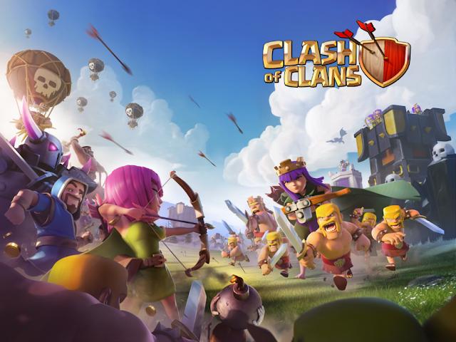 تحميل وتهكير كلاش اوف كلانس Clash of Clans v8.332.6 اخر اصدار