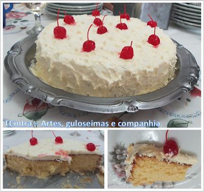 BOLO GELADO; bolo caseiro; bolo de coco; coco ralado; lanche; festa; sobremesa de coco