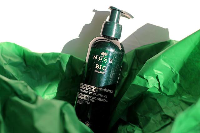 Nuxe Bio Organic olejek do mycia twarzy i ciała