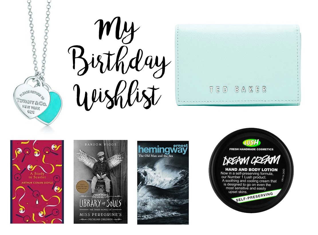 Life: My 23rd Birthday Wishlist