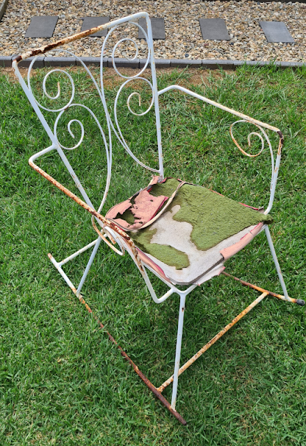 vintage outdochair upcycle tik tok diy to modern on trend outdoor living furniture