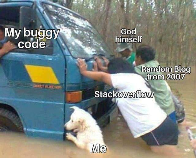 my buggy code