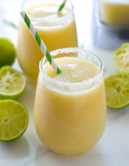 TROPICAL PINEAPPLE MARGARITA SLUSHIES ##margarita #pineapple