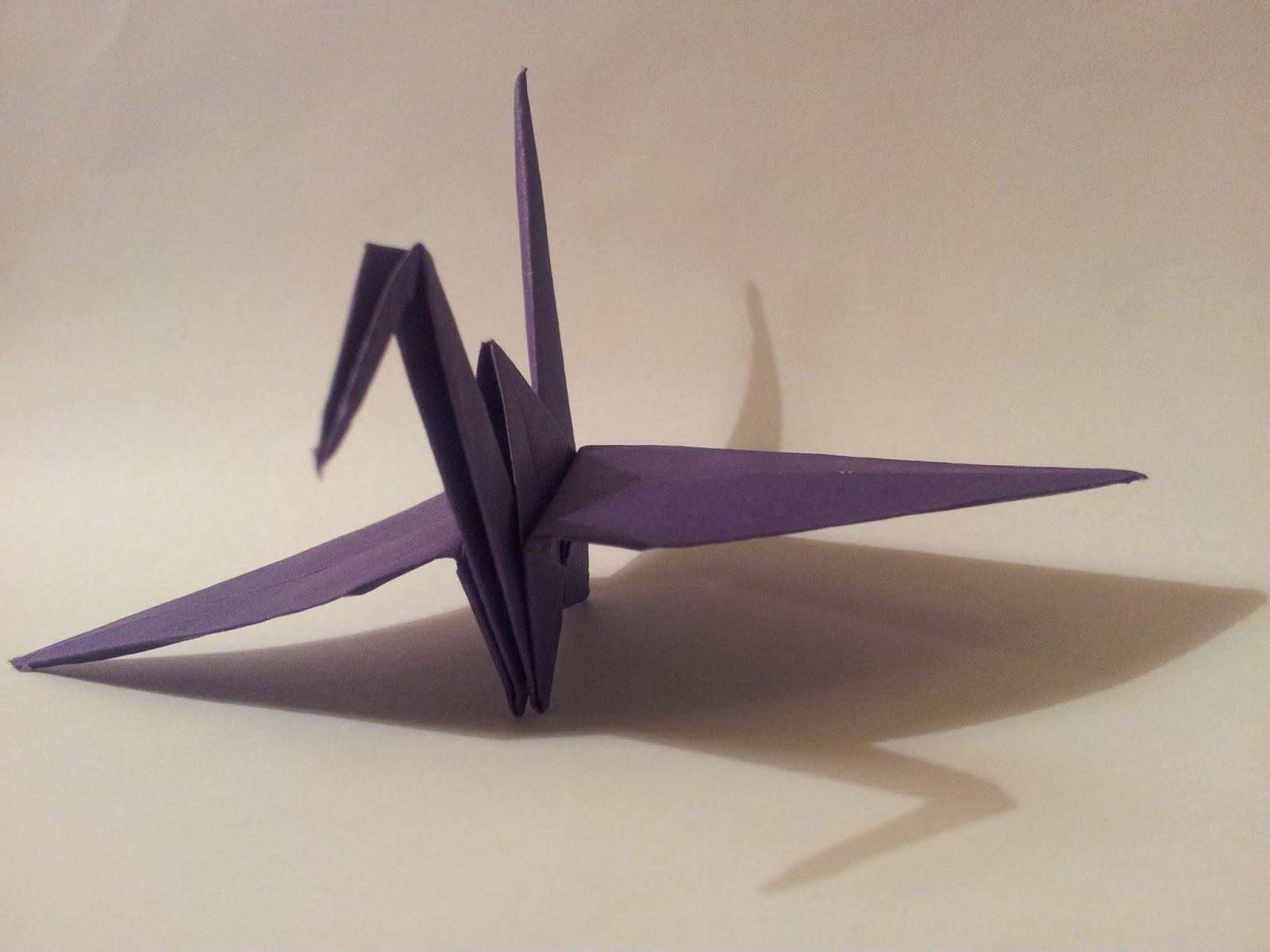 Origami Crane - YouTube | 1200x1600