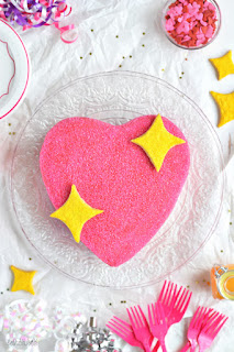 Emoji Heart Cake