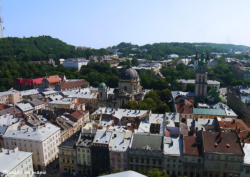 punkty widokowe Lwowa