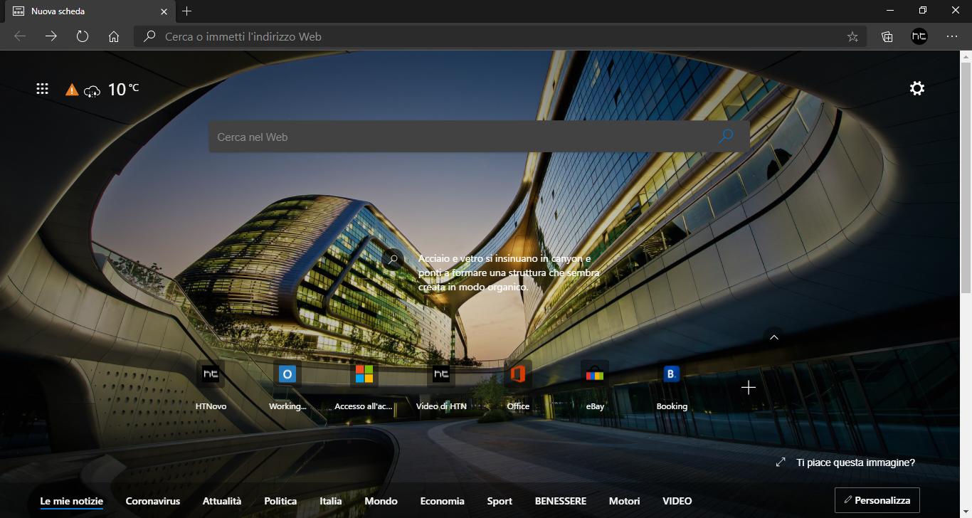 Microsoft Edge si aggiorna e ottiene nuove funzionalità
