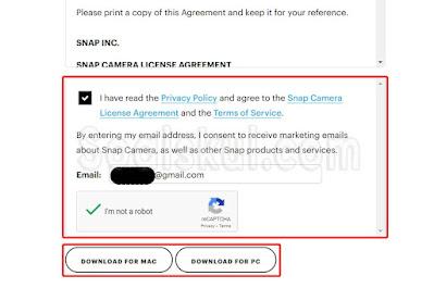 langkah 3 instal snap camera di gmeet