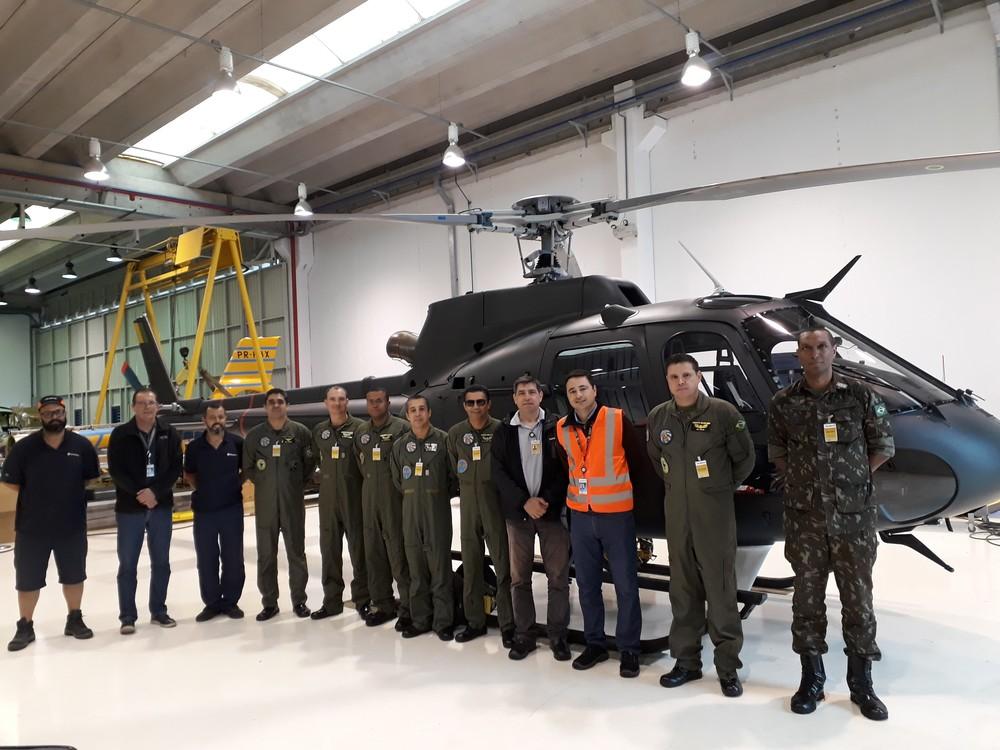 Exército Brasileiro recebeu o 25º helicóptero Fennec | É MAIS QUE VOAR