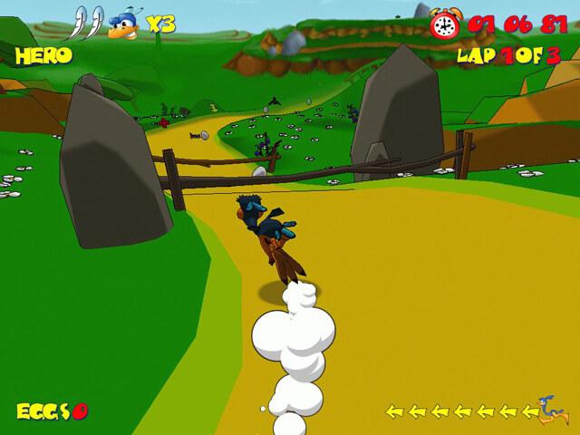 لعبة Ostrich Runner