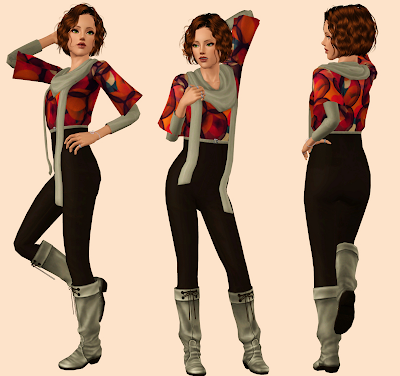 My Sims 3 Blog Shake Up Christmas Outfit By Rayne
