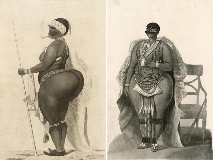 Kutana na Mwanamke Sara Baartman Mwanamke Aliyetumika Kivutio Cha Maonesho Uingereza Sababu ya Makalio Makubwa