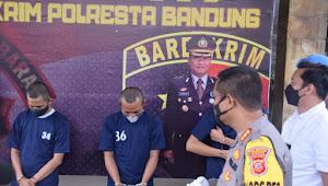 Empat Copet Asal Lampung. Ditangkap Satreskrim Polresta Bandung