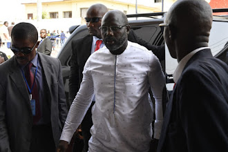 George Weah urges Nigeria to prepare well for World Cup