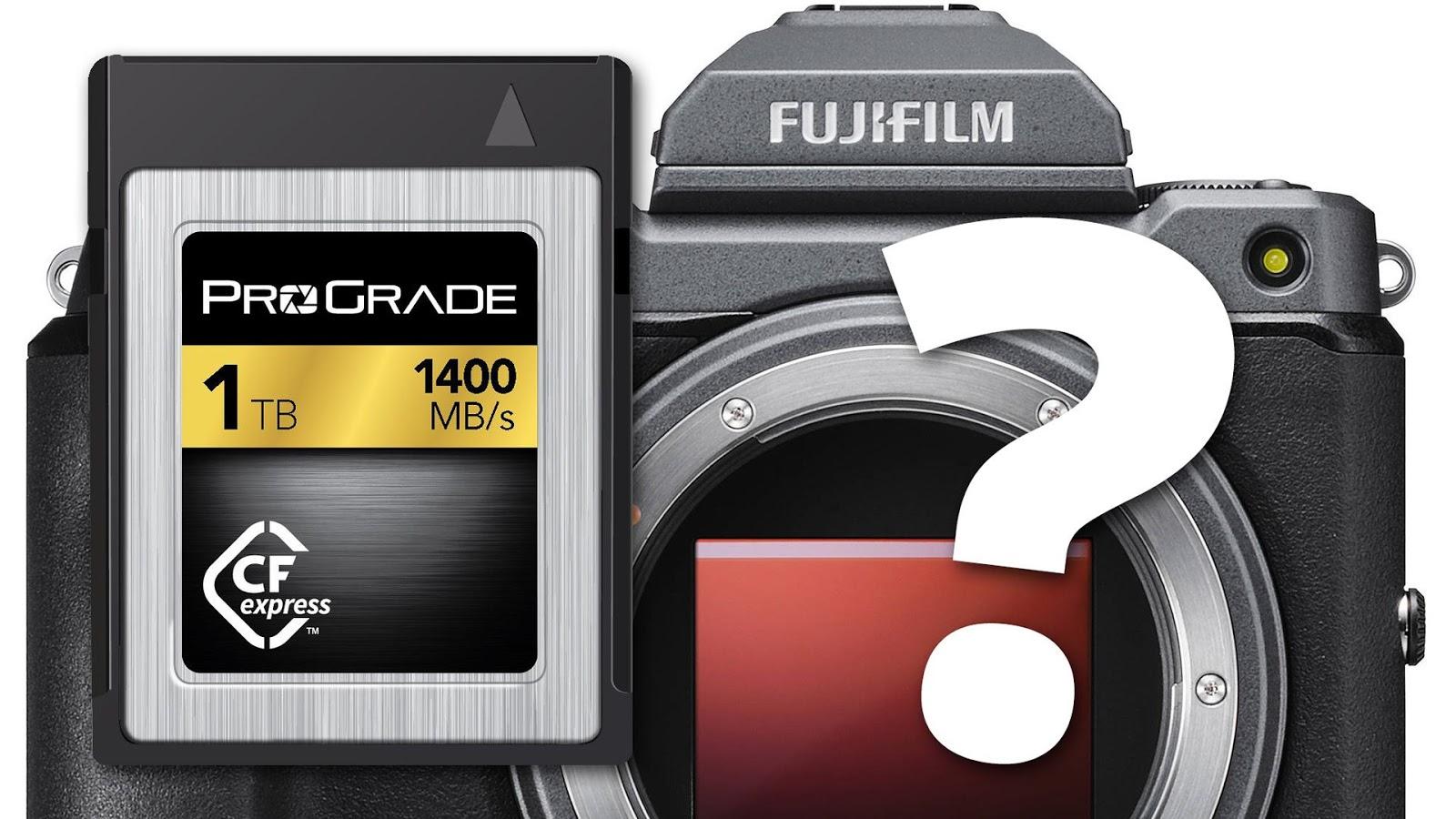 Камера Fujifilm не использует карты памяти CFexpress