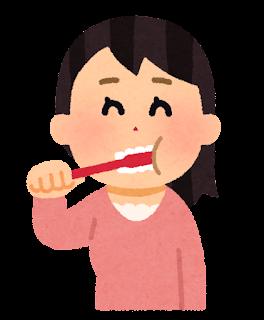 「歯磨き 女性 イラスト」の画像検索結果