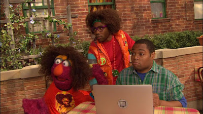 LMNOP Donald Glover, Chris, Telly, Sesame Street Episode 4317 Figure It Out Baby Figure It Out season 43