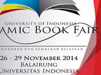 Islamic Book Fair Hadir Lagi di Depok, 27-30 Desember 2017