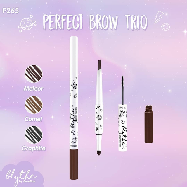 BLYTHE BY CARELINE PERFECT BROW TRIO (P265) MORENA FILIPINA BEAUTY BLOG