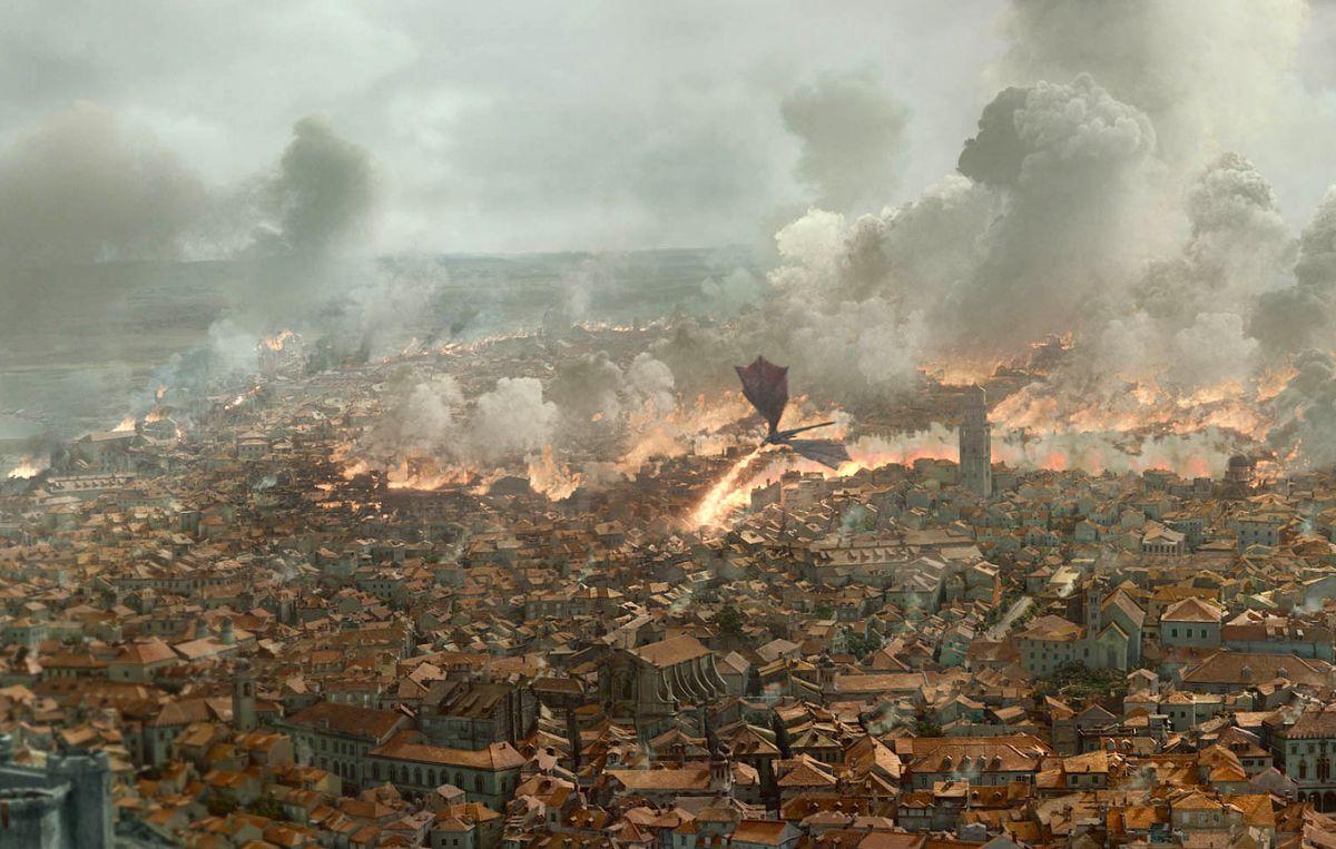 Daenerys en Game of Thrones