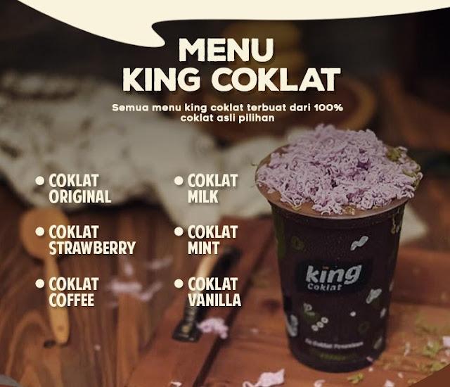 Franchise Minuman King Coklat
