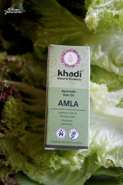 Khadi -  AMLA Olejek do włosów