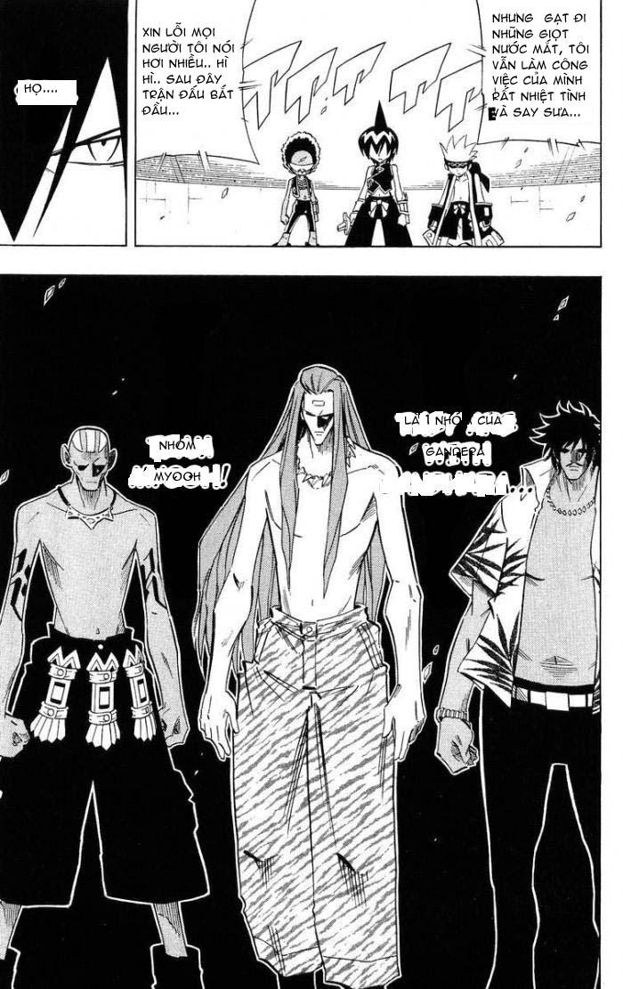 Shaman King [Vua pháp thuật] chap 220 trang 11