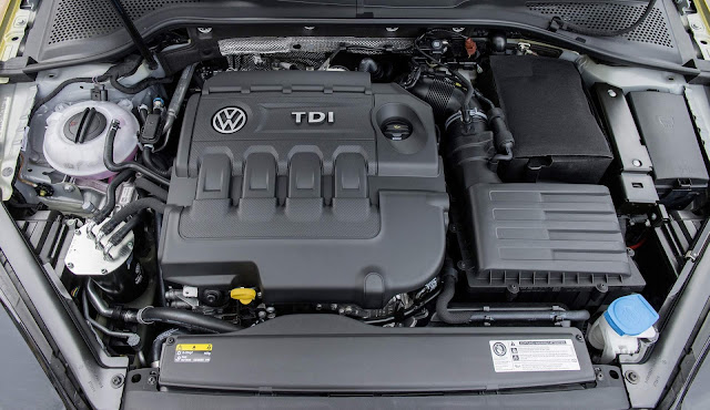 VW Golf 2018 - motor TDI