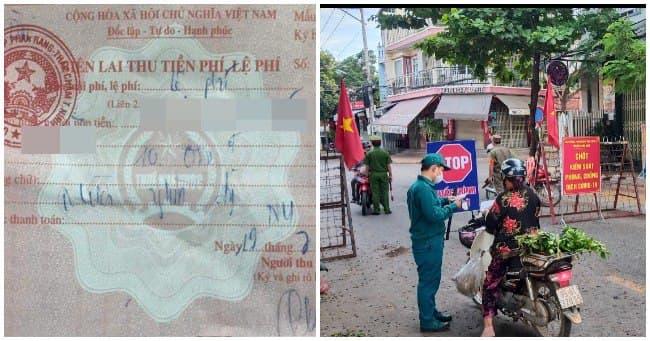 Thu 10.000 đồng/giấy đi đường, chủ tịch phường bị cách chức