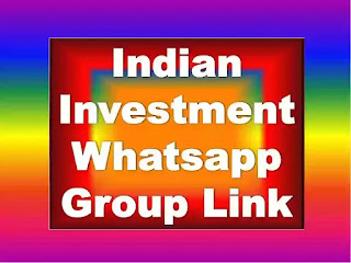 Indian Investment Whatsapp Group Link 2021, Investor Whatsapp Group India Indian Investors WhatsApp Group Links Investors WhatsApp Group Links,  Indian Investors Groups Kya Link Se Indian Investment Whatsapp Group Join Karna Sahi Hai?  Group Join