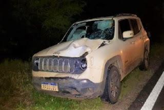 Candidato a prefeito e vice se envolvem em acidente com morte de motociclista, na Bahia