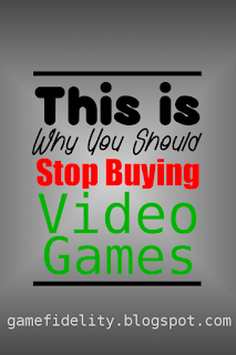 This is why you should stop buying video games