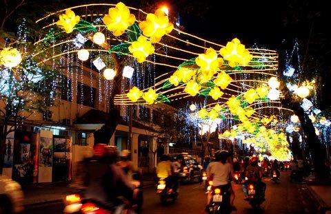 Ornamenti Capodanno in Vietnam