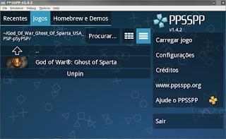 PPssPP jogue os jogos de psp no computador