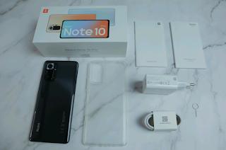 Contents of Redmi Note 10 Pro box