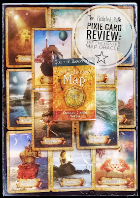 Pinterest Photo for Review of The Enchanted Map Oracle