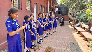 राज्य पुरस्कार परीक्षा के लिए मनपा के स्काउट्स– गाइड्स विद्यार्थियों का चयन   #NayaSaberaNetwork