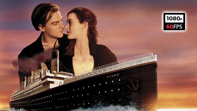 Titanic (1997) Open Matte BDRip 1080p 60fps Español Latino-Castellano-Inglés