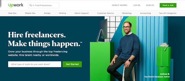 register as a freelancer on upwork