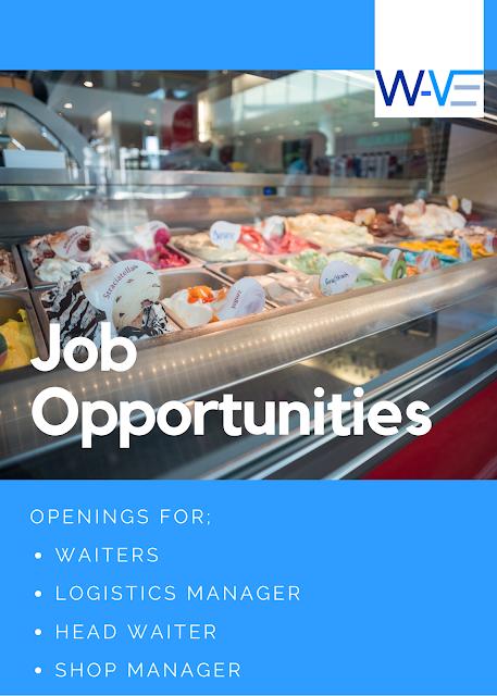Vacancies at an Ice Cream Parlor in Ikeja, Victoria Island and Lekki.