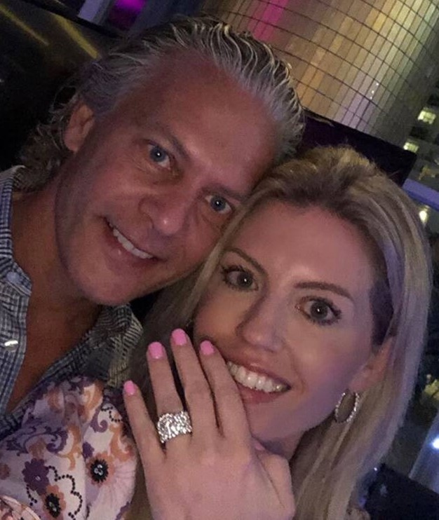 "David Beador Confirms His Fiancée Lesley Cook Is Officially Pregnant; David Says ""Lesley And I Are Excited To Be Expecting"""