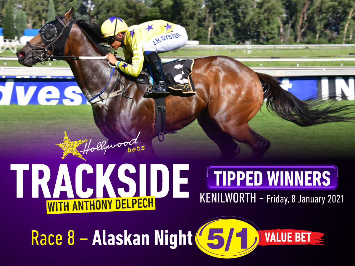 Trackside with Anthony Delpech - Tipped Winners