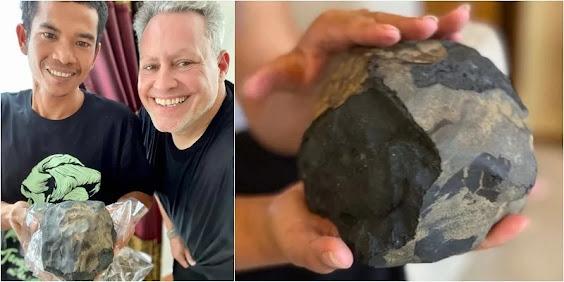 Kaya Mendadak, Batu Meteor Josua Hutagalung Dibeli Kolektor dari AS Senilai Rp 26 Miliar