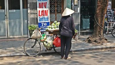 Hanoi życie uliczne