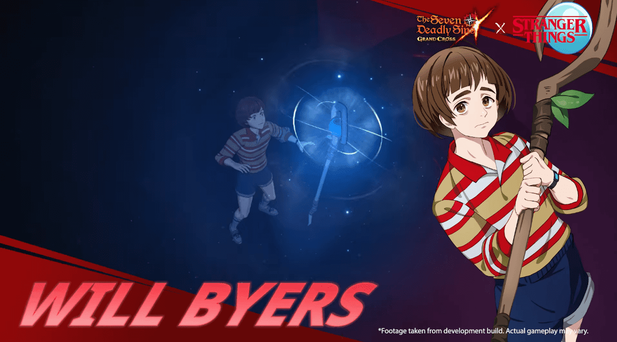 Seven Deadly Sins Collab Stranger Things Will Byers