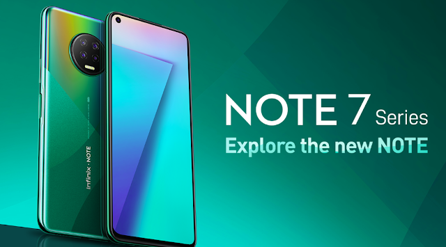 Infinix Note 7 Lite is official: A 6.6-inch phone with 4 GB of RAM