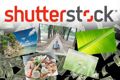 ShutterStock - Cara Mendapatkan Uang dari Internet Modal Kamera HP