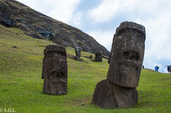 Rano Raraku Isla Pascua. Que ver en tres dias