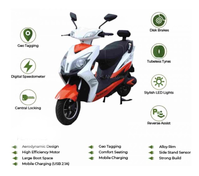 Crayon motors electric scooter Envy launch india.